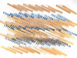 300 metal film 1% resistor kit 30 kinds, 10 each - smarter electronics by universal solder