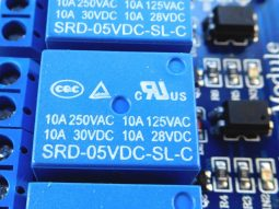 relay module with opto coupler insulated inputs - smarter electronics by universal solder
