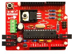 "Canaduino Uno Bone Maxxx - Canaduino Uno Bone ""Maxxx"" advanced Arduino Uno R3 - smart electronics by universal solder"