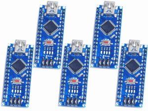 5xnano amazon 300x225 - 5 x Arduino Nano V3