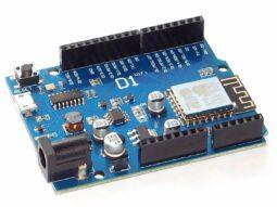 esp8266 w1 255x191 - WEMOS D1 R1 Arduino compatible ESP8266 WiFi Development Board