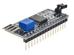 Blue-White LCD 1602 2x16 Character, parallel or I2C