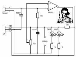 Arduino Sensor Shield LM393 Schematic