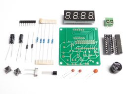 Digital LED Clock Module 4-Digit, Dual Alarm, Counter, Countdown