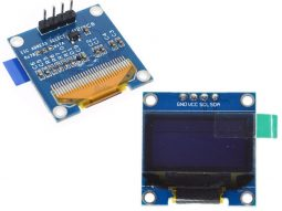 OLED 128x64 Pixel I2C, 0.96 inch, SSD1306 Driver, Arduino Library, 3-5V