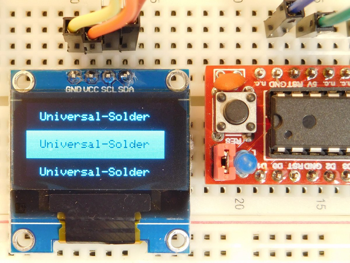 OLED 128x64 Pixel, I2C, 0 96 inch, SSD1306, Arduino Library, 3-5V