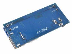 DC-DC Converter 5V 6A output, 9-36V input, USB Port