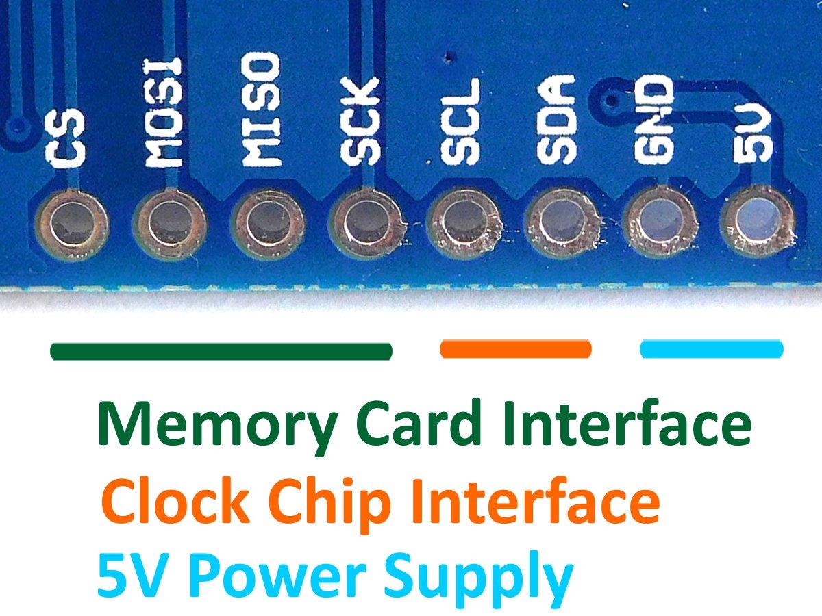 Mini Data Logger DS1307, Micro SD, Backup Battery, I2C, SPI, Arduino
