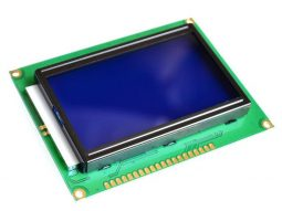 LCD12864 128x64 Pixel Graphic, blue/white, ST7920, Arduino etc.