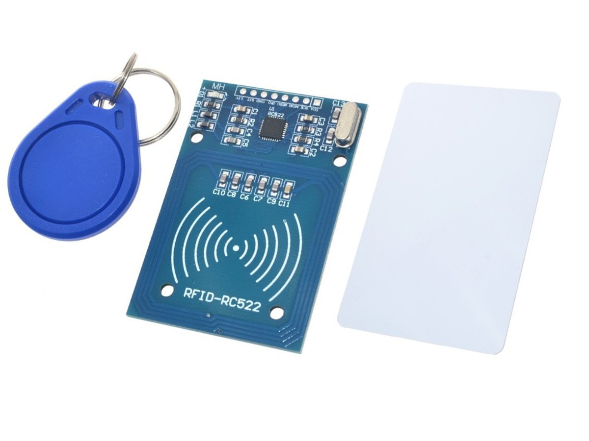 RFID 13 56MHz Starter Kit with Keyfob, Code Card, RC522