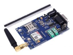SIM800C GSM GPRS Development Board 6-24V, Antenna