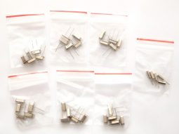 35 pcs Crystals Kit HC-49 6-16MHz and Watch-Crystal 32.768kHz