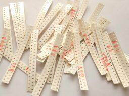 660 pcs SMD Resistor Kit 0603, 100mW, 1%