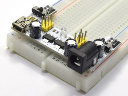 Bread Board Power Supply Module 3.3V and 5V - New Version