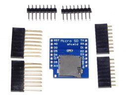 D1 Mini WEMOS compatible Micro SD Card Shield