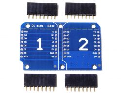 D1 Mini WEMOS compatible ESP8266 Dual Base