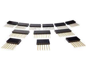 3 pack Arduino long shield headers 1 300x225 - 3 pack Arduino long shield headers 1