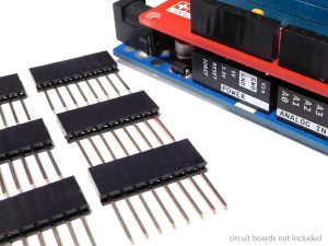 3 pack Arduino long shield headers 3 300x225 - 3 pack Arduino long shield headers 3