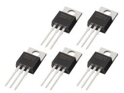 5 x LM338 Adjustable Voltage Regulator 5A