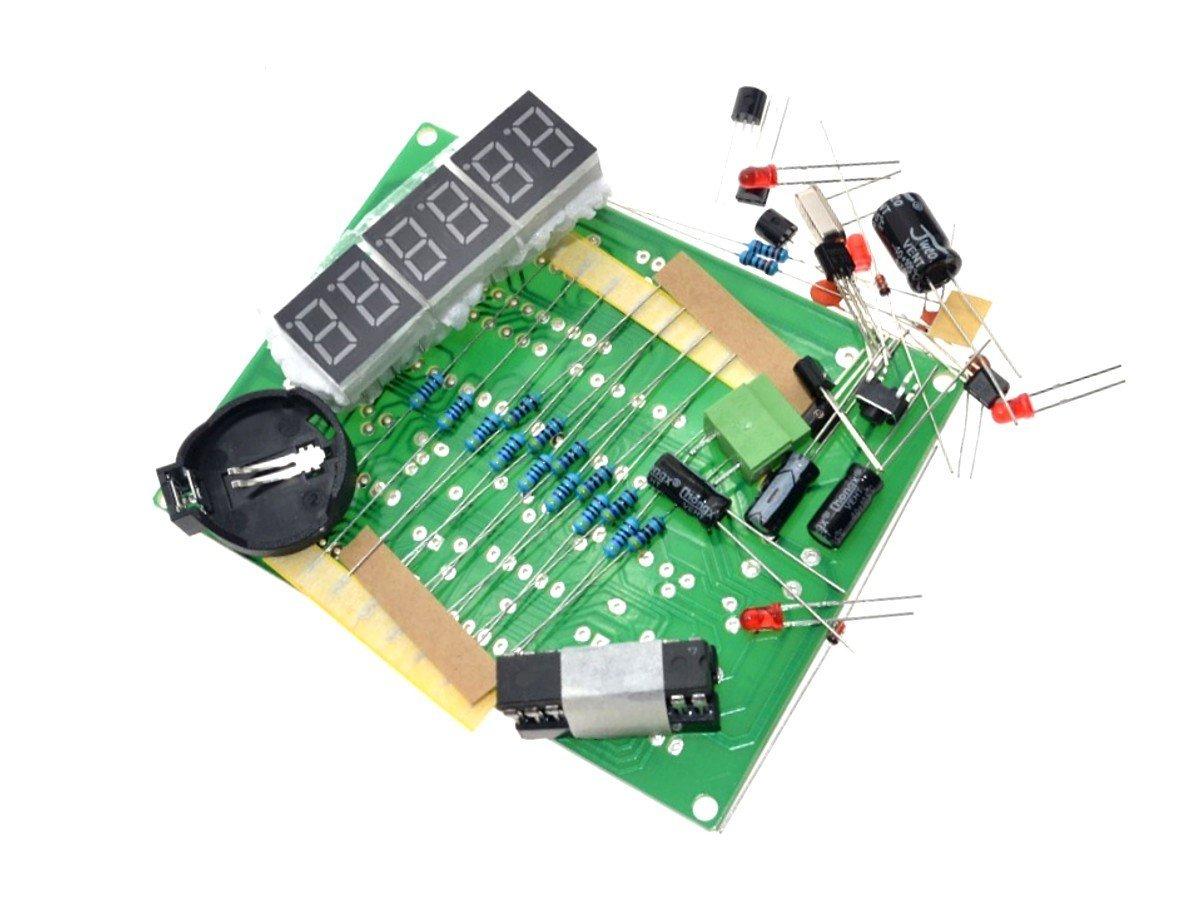 Digital LED Clock 6-Digit, DIY kit based on AT89C2051