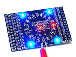SMD Soldering Learning Kit, LED Light Effects with NE555