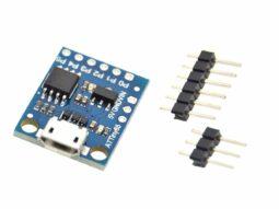 Attiny85 Arduino compatible micro-USB board