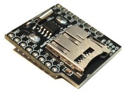 WEMOS D1 Mini ESP8266 Data Logging Shield RTC micro-SD