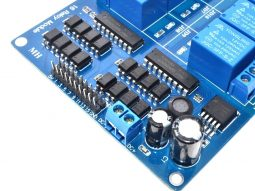 16 Relay Module Shield 12-24V for 3.3V-5V logic