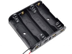 Battery Box Holder for 4x AA 1.5V Batteries