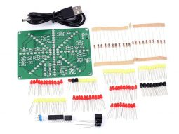 Flashing LED bars decoration DIY soldering Kit