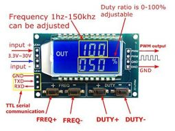 programmable square wave function generator