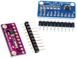 1915 6b972beb eb07 4c77 99c7 29e5357d62360 255x191 - ADS1115 4-Channel A/D-Converter I2C 16bit for Arduino etc.
