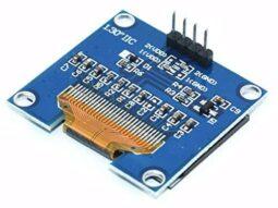 1988 ee2e4c4d dfdb 40f1 96da 154658f4c4701 255x191 - OLED 128x64 Pixel, I2C, 1.3 inch, SSD1306 SH1106, 3-5V