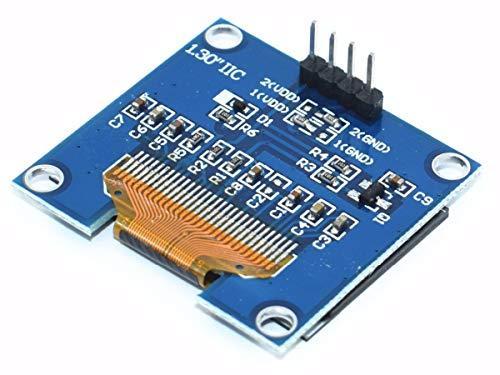 OLED 128x64 Pixel, I2C, 1 3 inch, SSD1306 SH1106, 3-5V