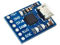 CP2102 USB-TTL Serial Adapter 3.3V and 5V Operation