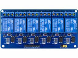 6 Relay Board 12V 5V 24V