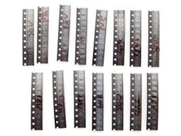 150 pcs Zener Diodes Ultimate Assortment SMD SOD-323 Package 3V-24V