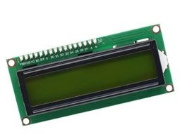 2078 38c5dc90 43f3 495e 8b3c ef383eb85bc30 255x191 - Green-Yellow LCD 1602 2x16 Character, parallel or I2C