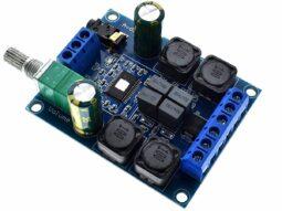 2 x 50 Watt Class-D Stereo Amplifier with volume control TPA3116D2