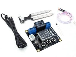 Digital Temperature, Moisture or Light controller, 3 Modes, 3 sensors