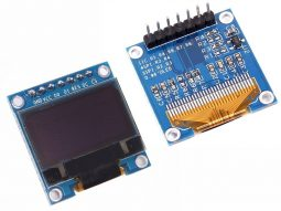 OLED Display 0.96 inch 128x64 with SPI interface - Arduino Library - 3-5V