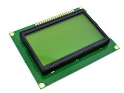 2041 201b66af 33a4 4db7 ad69 21f3e717035b0 255x191 - LCD12864 128x64 Graphic Display SPI, green-yellow, ST7920