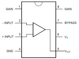 2224 b5774d7e 2f87 4f65 abd3 4ef86179fafa0 255x191 - 10 x LM386 Audio Amplifier IC 700mW in DIP-8 Package