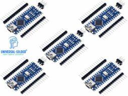 2211 350ea02a 6576 4a3a 9c5a 0f5430d652560 1 255x191 - 5 Pcs Arduino Nano V3.0 compatible - Atmega328P - CH340 USB - High Quality