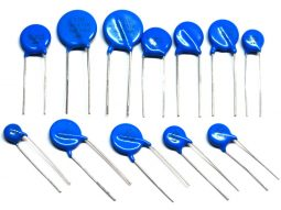 120 pcs Varistor Assortment 10 pcs each fo the following models / values (tolerance 10%) between 27V and 470V