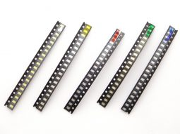 500 pcs LED SMD 0805 Red Green Blue Yellow White
