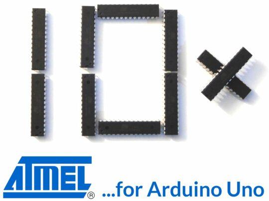 10 pcs Atmega328P-PU Arduino UNO R3 Boot Loader installed