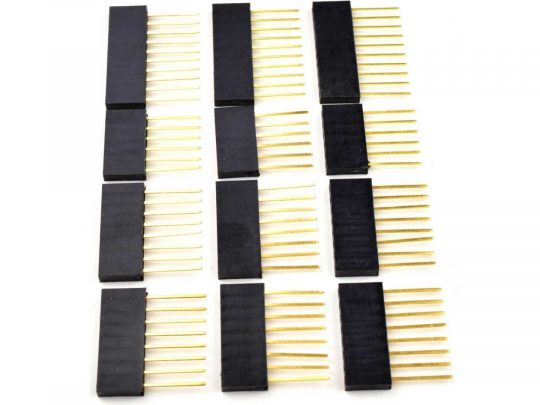 12 pcs Long Lead Shield Headers 11 mm for Arduino