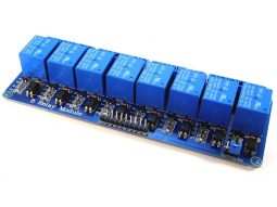 8 Relay Module Shield 10A with Opto Inputs 3-24V