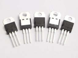 5 pcs ST L7805CV 5V 1.5A pos. voltage regulator